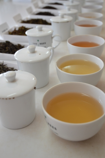 Tea at Setemwa tea tasting